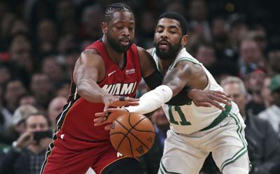 Heat Celtics Basketball