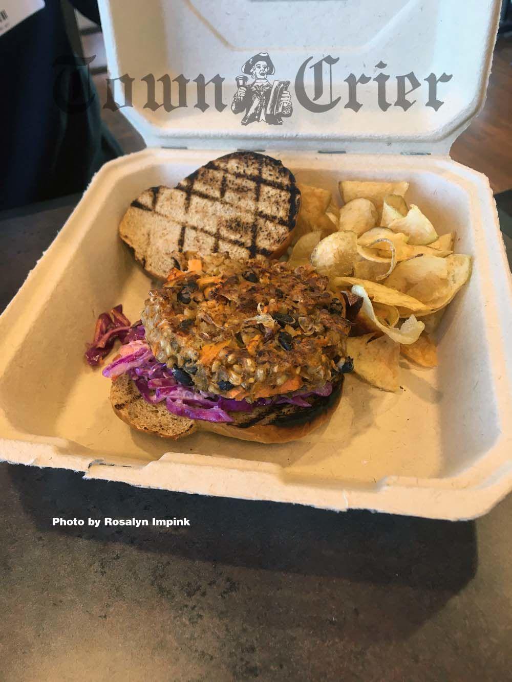 The Vegetastic! veggie burger