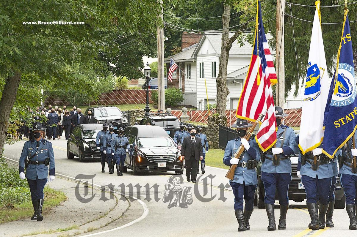 Funeral procession of Trooper Devlin