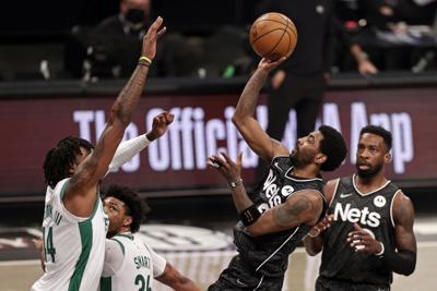 Celtics Nets Basketball