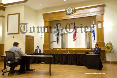 DiFruscia and Robertson face off at debate