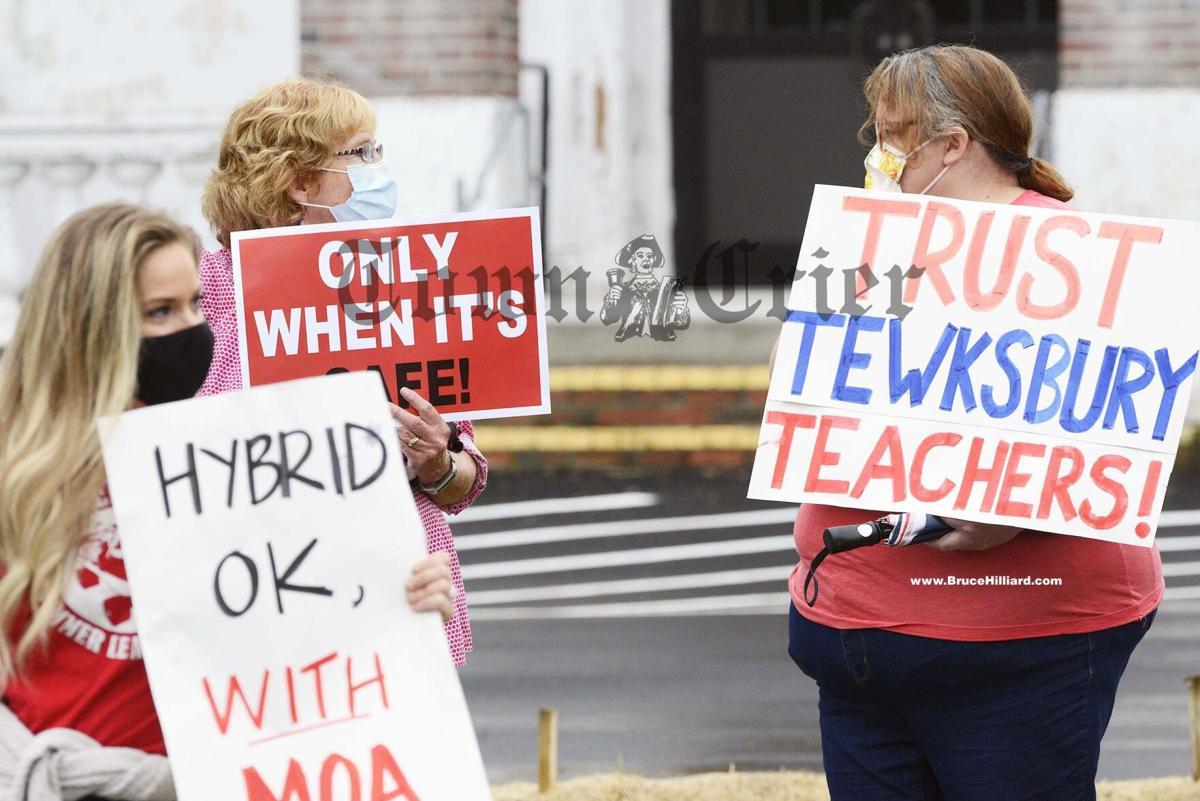 Tewksbury Teachers Association prepare for the upcoming hybrid model return to school