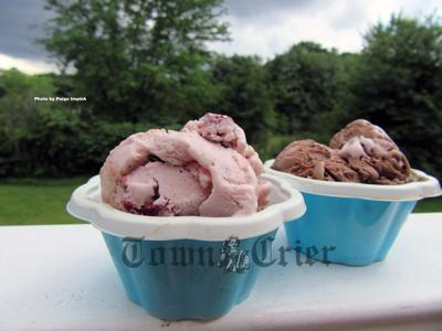 On the ice cream trail in Maine