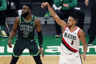 Trail Blazers Celtics Basketball