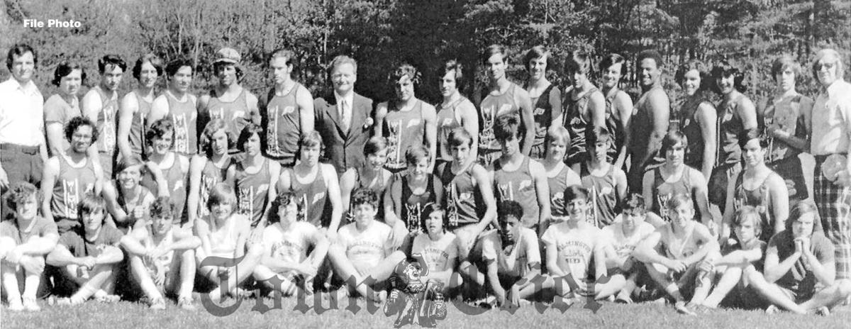 The Wilmington High School track team of 1974