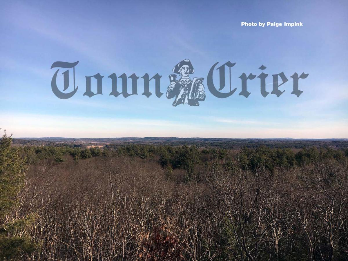 Panoramic view of metrowest Boston from Tippling Rock