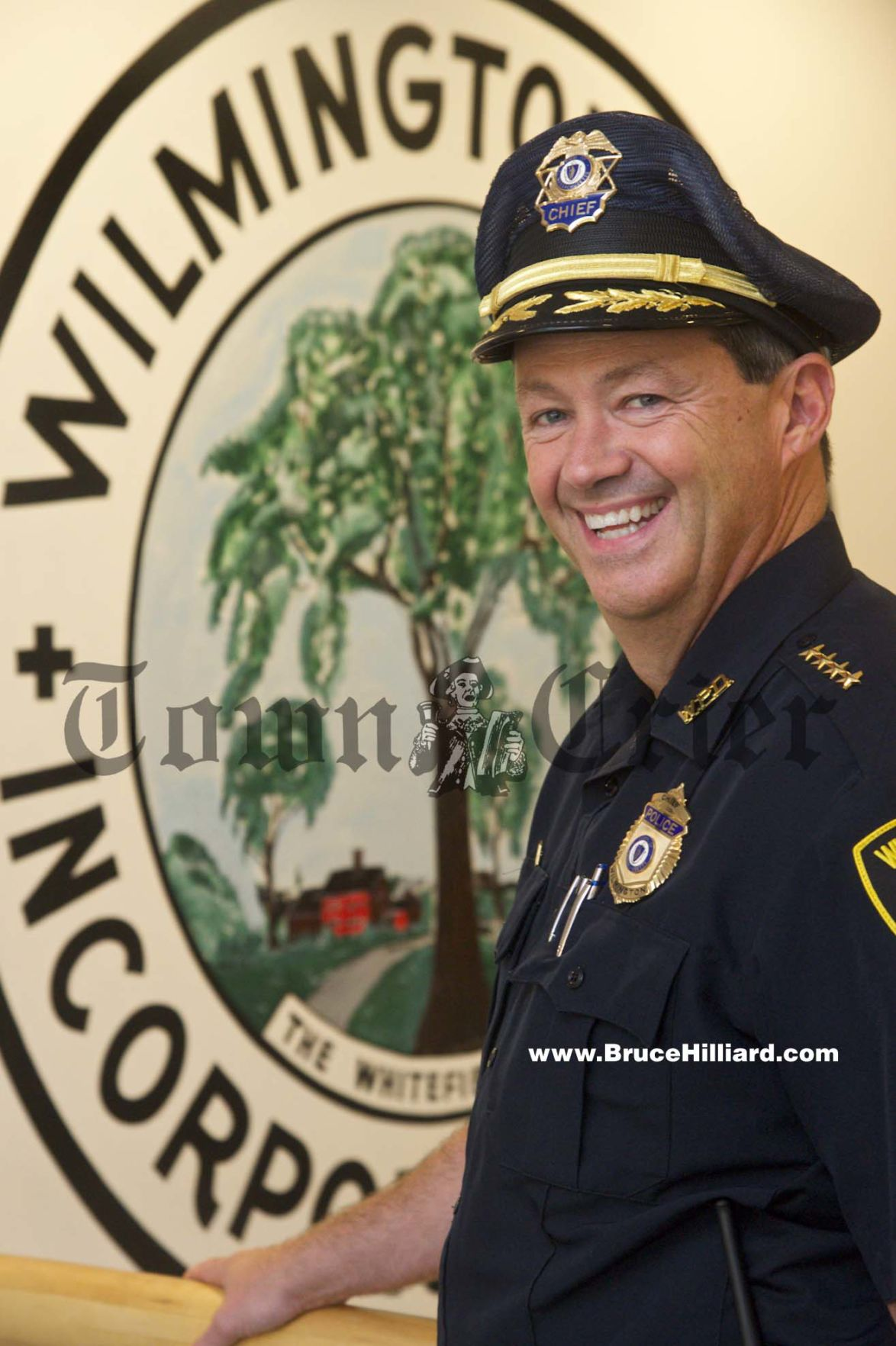 New Police Chief, Joseph Desmond
