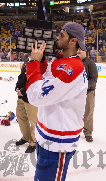 Pendenza helps UML capture Hockey East championship title