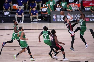 APTOPIX Celtics Heat Basketball