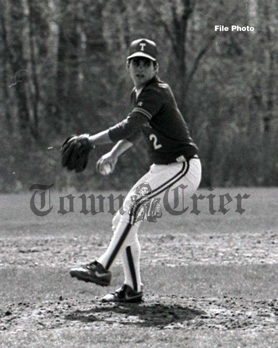 Sean Mackey on the baseball diamond
