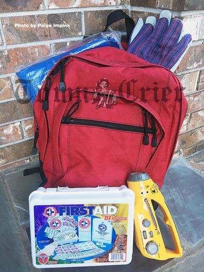 An emergency preparedness kit