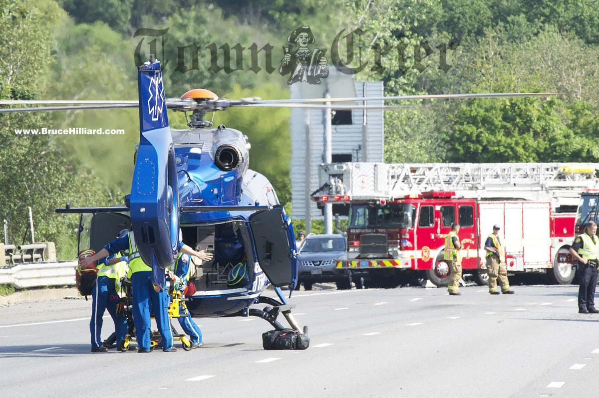 Medevac helicopter used to transport 3-year-old victim