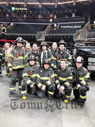 Tewksbury firefighters in BFit Challenge