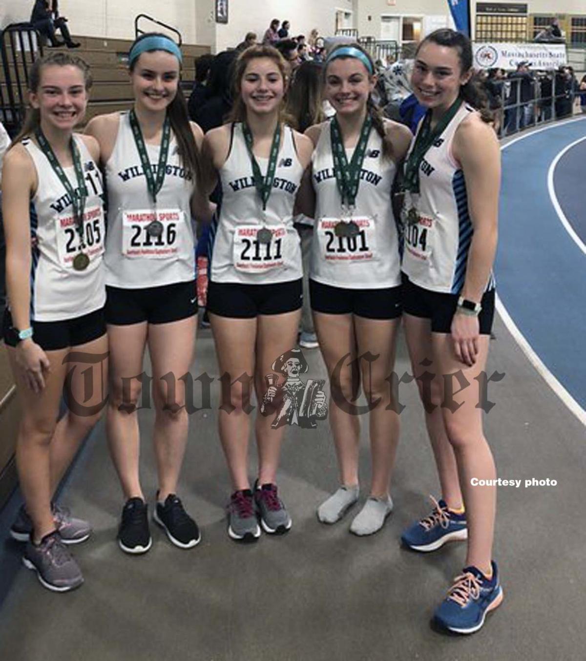 Wildcat medalists at the Freshmen/Sophomore Meet