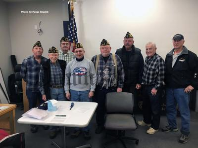 Members of the American Legion Post 529 Tewksbury