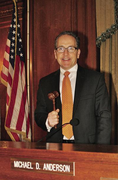 City Council President Michael Anderson's