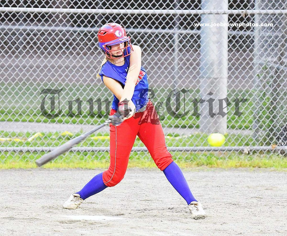 Tewksbury's Madi­son Stovesand belts out a single