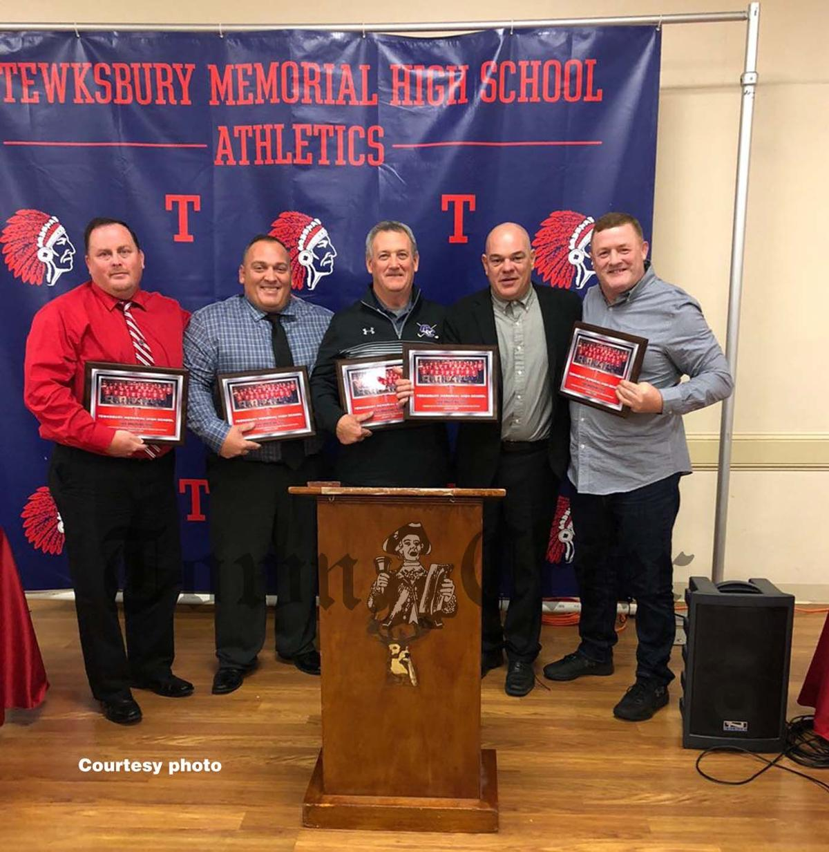 Members of the 1989 TMHS State Champion Wrestling Team