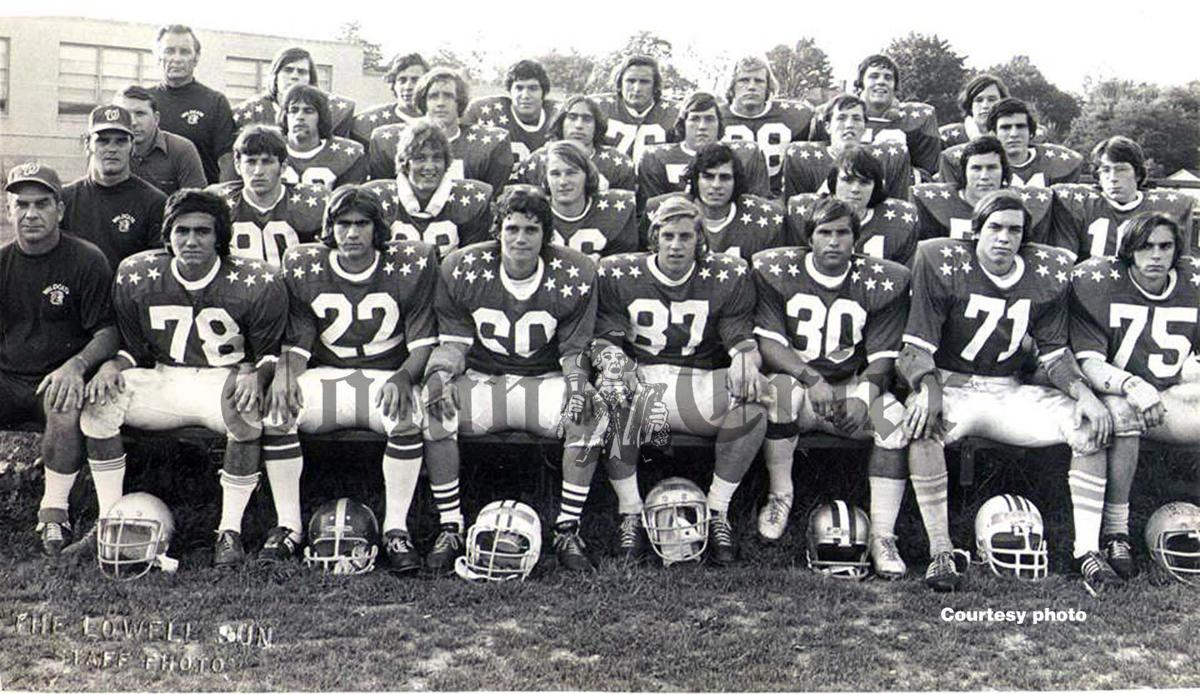 John Ritchie with Wilmington's 1973 MVC All-Star Team