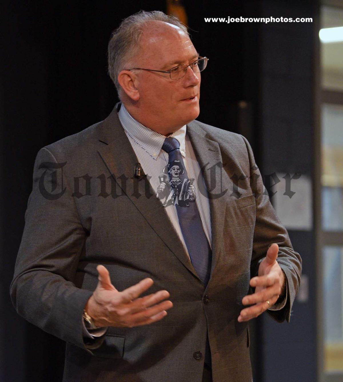 AD Candidate Mike McCaffrey