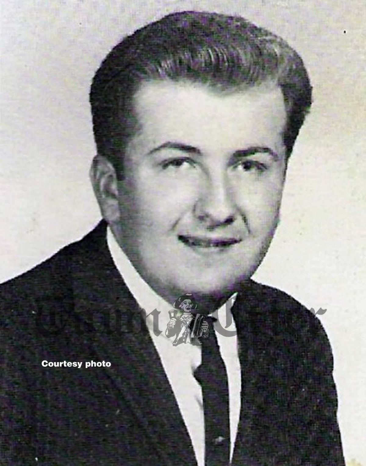 Roy Flagg's yearbook photo