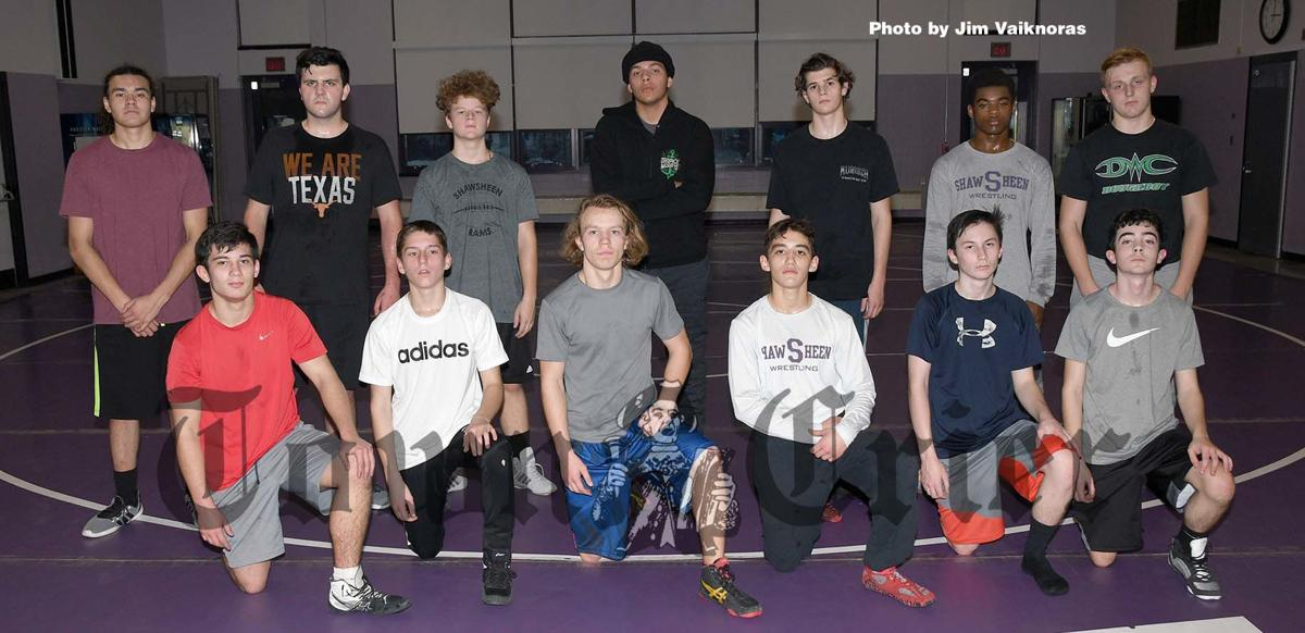 Locals on this year's Shawsheen Tech Wrestling team