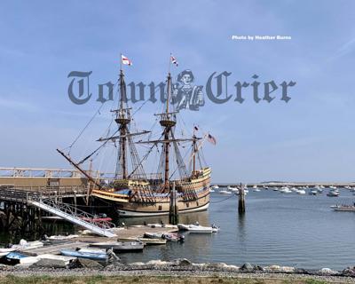 Mayflower II returns to Plymoth, MA