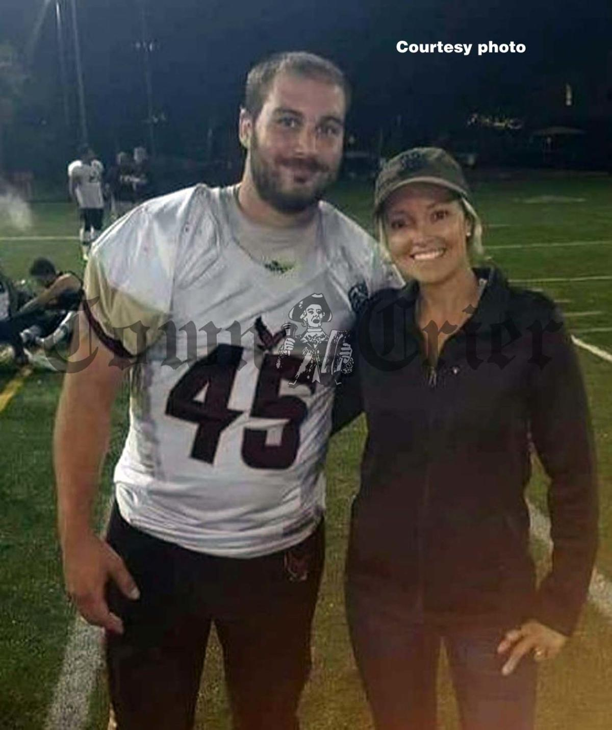 Wilmington resident Zachary Swale with fiancee