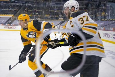 Bruins Penguins Hockey