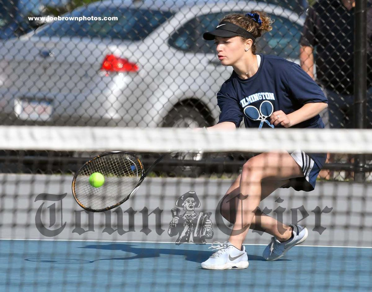 Lia Kourkoutas of WHS All-Decade Girls Tennis team