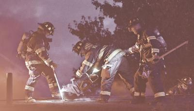 2-alarm fire