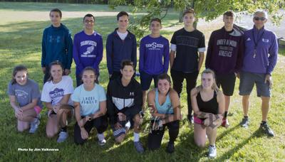 Members of this year's Shawsheen Tech Boys and Girls Cross-Country teams