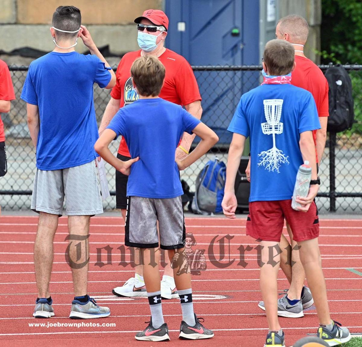 Fred Doyle of Tewksbury at the XC Project Camp