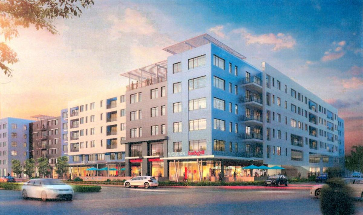 Transit Oriented Mixed Use Proposal In Woburn