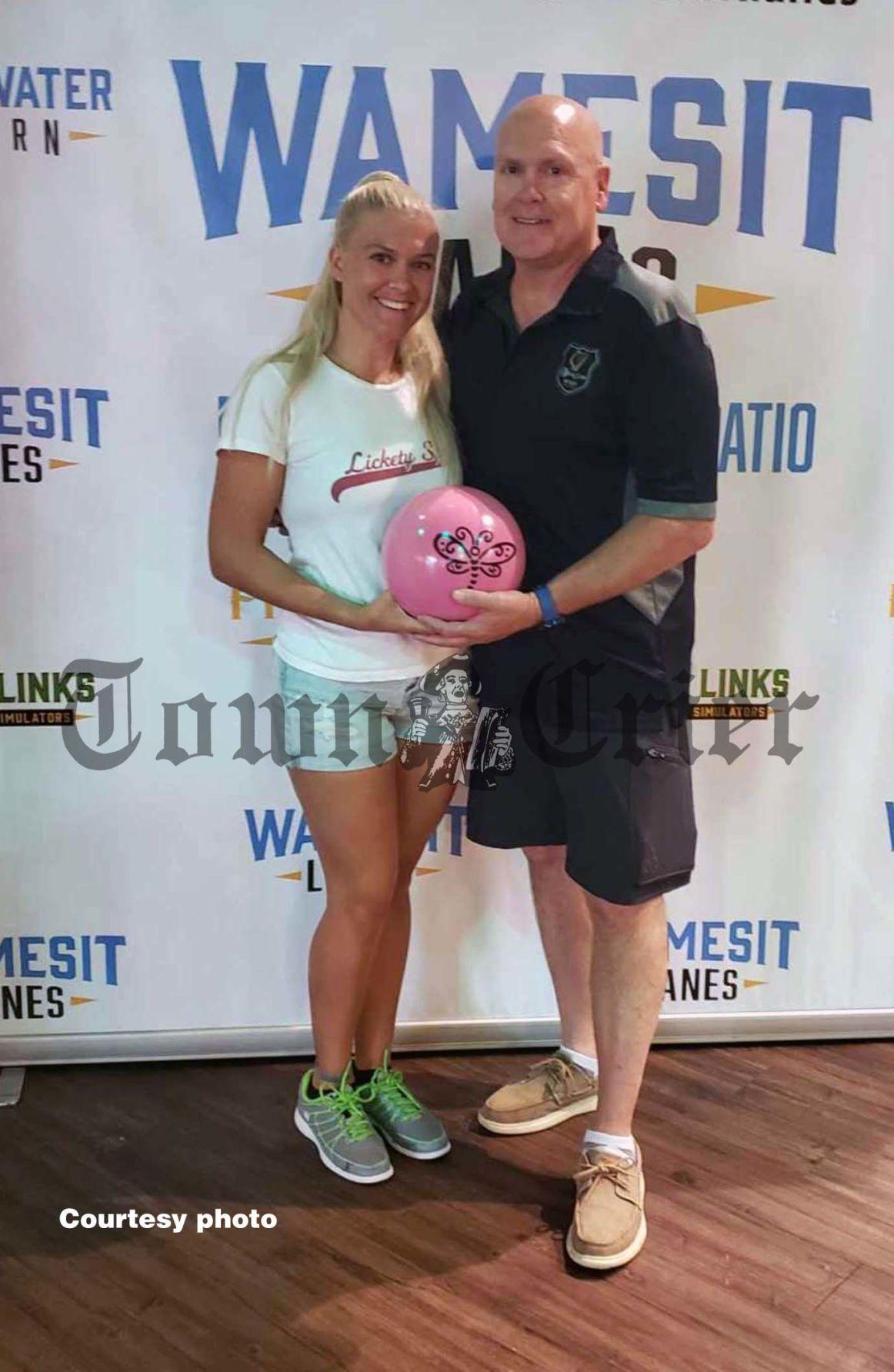 Joe Russell with his daughter Jordan