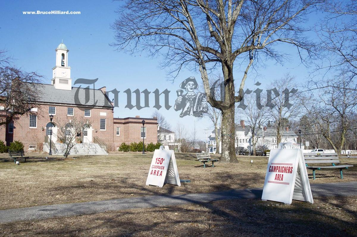 Tewksbury Town Hall's polling place