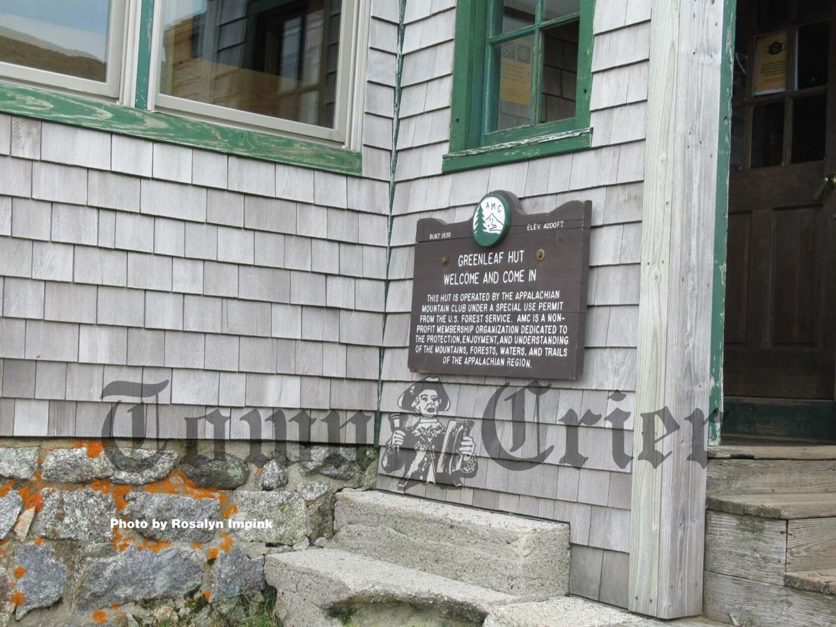The AMC Greenleaf Hut has been in operation for nearly 100 years