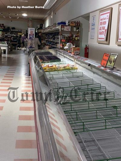 Market Basket in Tewksbury suffered a power outage