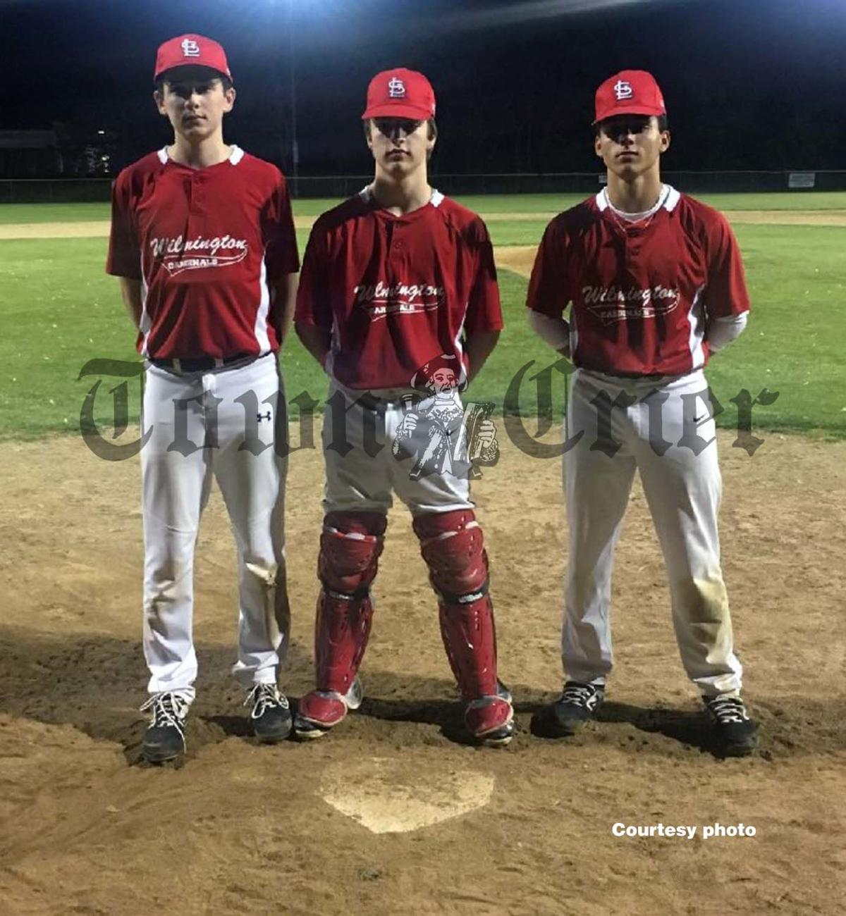 Tyler Fenton, Ben McEwen and Nick Benson
