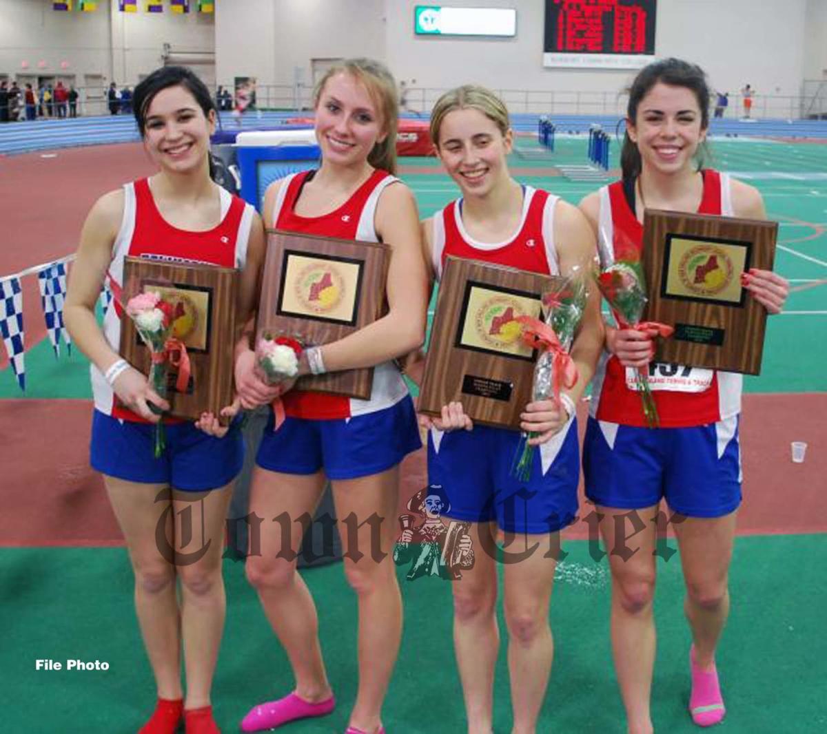 The 2010 TMHS Girls Track team's 4x400 relay team