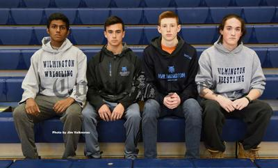 Seniors on this year's WHS Wrestling team