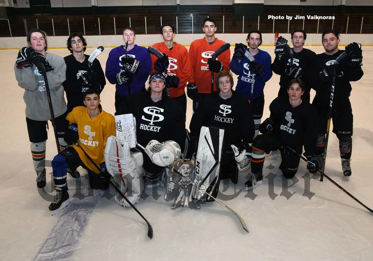 Tewksbury residents on this year's Shawsheen Tech Boys Hockey team