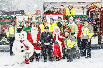 Last year's annual Santa Parade leaders