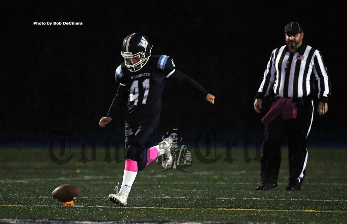 Stephen Smolinsky gears up to kick the ball