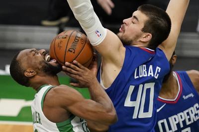 Clippers Celtics Basketball