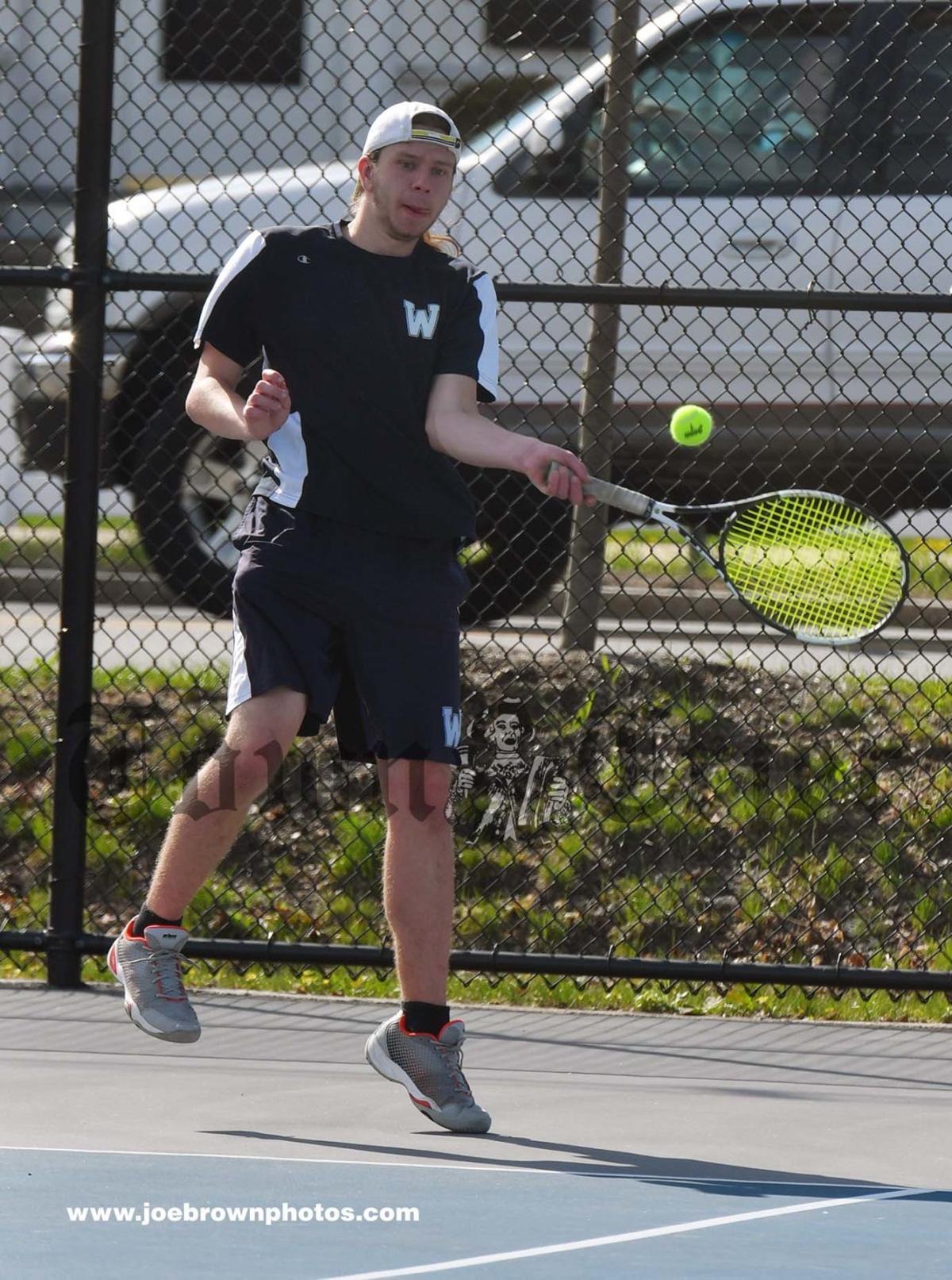 Evan Meyers of the WHS Boys Tennis All-Decade team