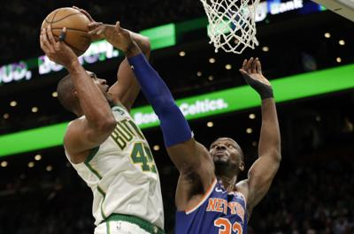 Knicks Celtics Basketball
