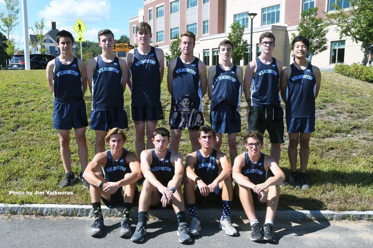 The senior members of the 2019 WHS Boys Cross-Country team