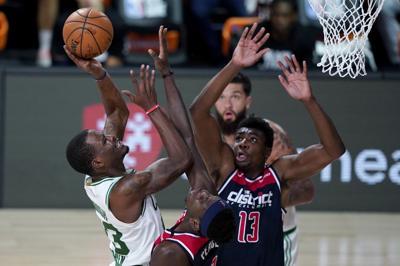 Wizards Celtics Basketball