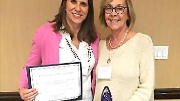 Mystic Valley Elder Services Healthy Aging Group Leader Susan Becker wins Outstanding Leader Award